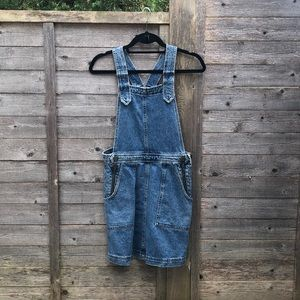 Denim Overall Jumper